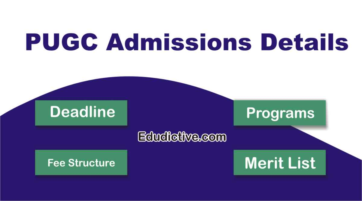 University of the Punjab Gujranwala Campus PUGC Admissions