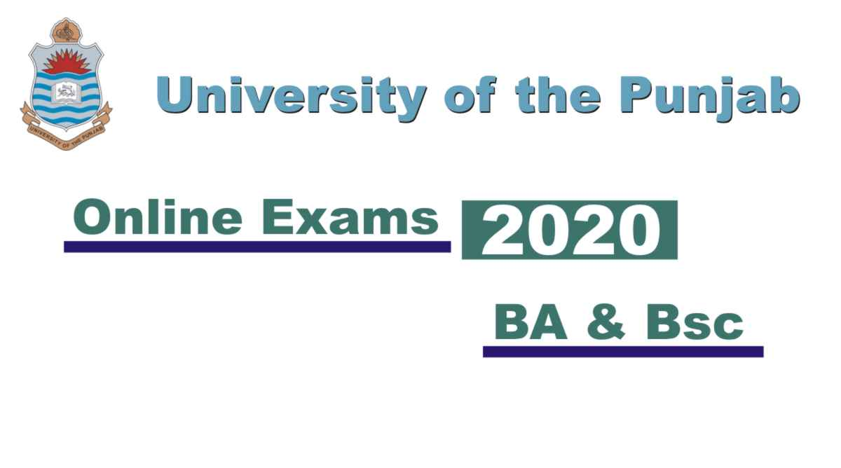 Punjab University BA BSC Exams Online