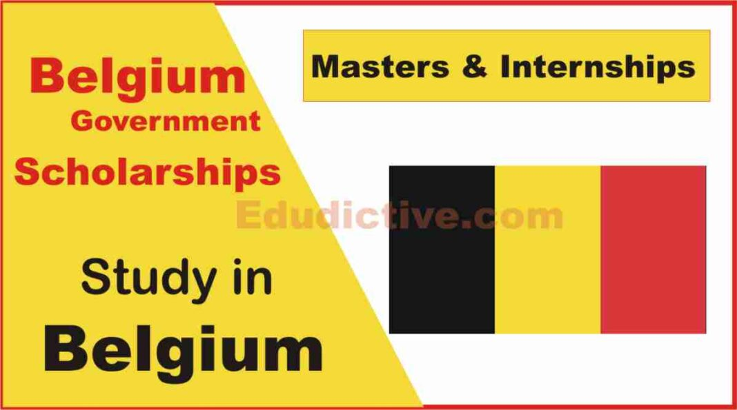 Belgium Government Scholarships for International Students