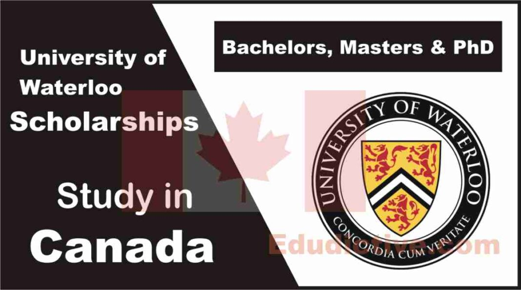 University of Waterloo Scholarships for International Students in Canada