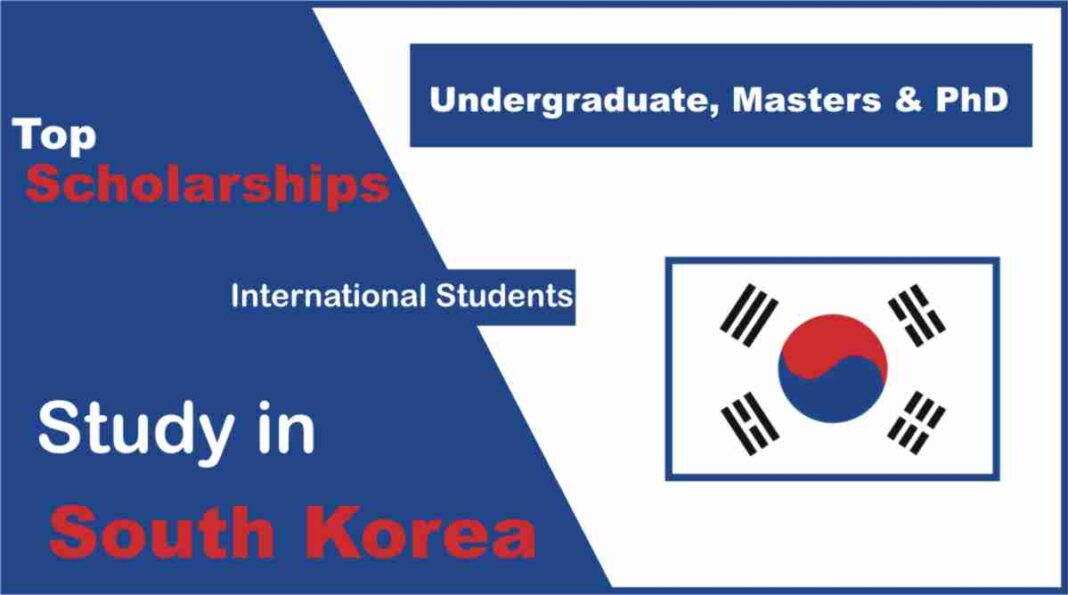 Scholarships in South Korea Fully Funded for International Students