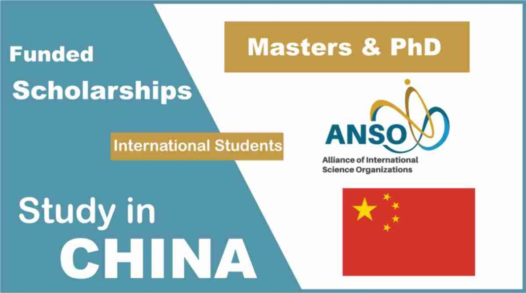 ANSO Scholarship for International Students
